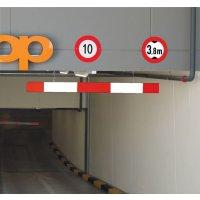 Aluminium Car Park Traffic Height Restriction Bar
