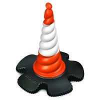 Wind-resistant Skipper™ Traffic Cone