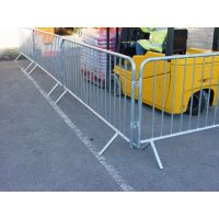 Lightweight Galvanised Tubular Steel Crowd Control Barrier