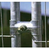 Joint for coupling anti-climb mesh fencing panels