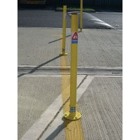 Sprung Steel Boundary Posts