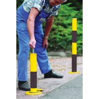 Manually Retractable Traffic Bollard