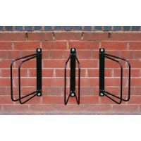 60°/90° wall-mounted bike racks