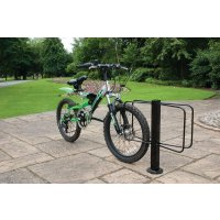 Floor Mounted Metal Bike Racks