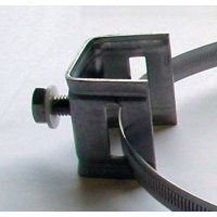 Useful stainless steel post fixing bracket