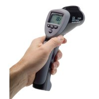 Laser Accurate Infrared High-Temperature Thermometers