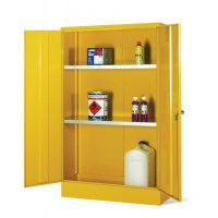 Extra shelf for dangerous and flammable substance cabinets