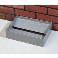 Discreet and tidy floor ashtray