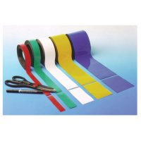 Flexible and magnetic easy-wipe racking strips