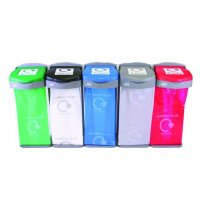 Colour-Coded Recycling Waste Sack Holders