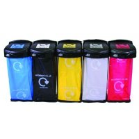 Budget Colour-Coded Recycling Sack-Holder Bins