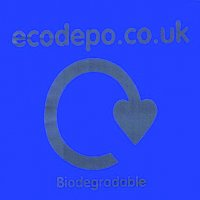 Pack of 100 Fully Biodegradable Recycling Bags