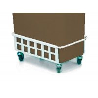 Transportation Trolley for Plastic Recycling Containers