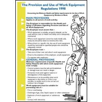 Durable regulation wall chart and pocket guide