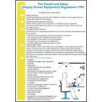 Wallchart/pocket guide: safe use of display screen equipment