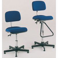 Active workshop chair with high or low-level options