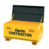 Secure, Lockable Powder-Coated Steel Site Storage Box