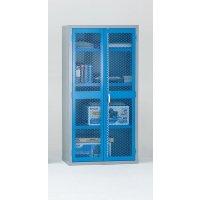 Reinforced Mesh Panel Door Cabinets
