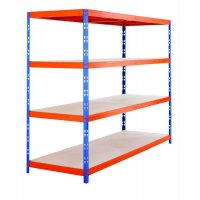 Heavy Duty 400kg Capacity Boltless Racking Shelving