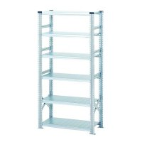 Standard-duty ZincRack self-assembly shelving – extension bays