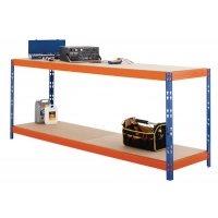 Adjustable Heavy-Duty Industrial Workbenches