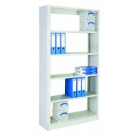 Expandable Boltless Office Shelving