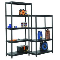 Ventilated Plastic Shelving Unit