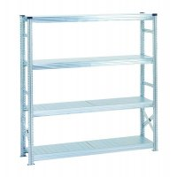 Heavy Duty Zinc Rack Shelving Extension Bays For Effective Storage