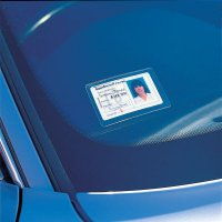 Self Adhesive Windscreen Badge Holders