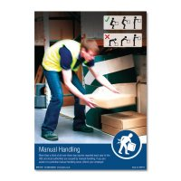 Advisory safety posters for manual handling