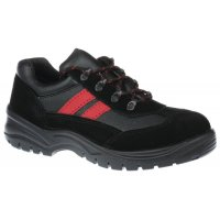 Ladies' Safety Trainer Shoes With Shock Absorbing Sole