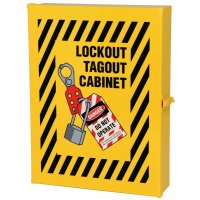 Lockout Wall Cabinet for Secure Lock and Tag Storage