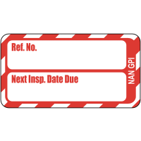 Informative Scafftag fire equipment tag replacement inserts