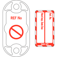 Highly visible Scafftag fire equipment nanotag kit