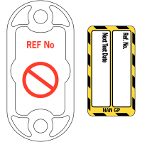 Easy to read Scafftag® electrical equipment nanotag kit