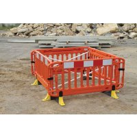 JSP Titan Safety Barrier with High-Visibility Anti-Trip Feet