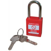 Cost-Effective Nylon Body Safety Padlocks