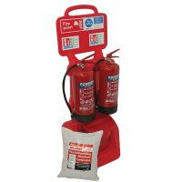 Petrol Forecourt Fire Bundle Kit On Wheels