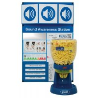 3M Hearing Awareness Station and Ear Plug Dispenser