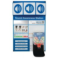 Moldex Sound Awareness Station with Ear Plug Dispenser and Mirror