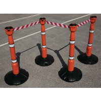 Skipper™ Retractable Barrier and Cone Kits Skipper™ Posts