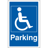 Weather-resistant Disabled Parking Signs
