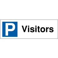 Parking Bay Signs for Visitors