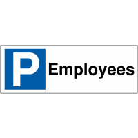 Parking Bay Signs for Employees