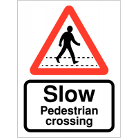 Durable Vinyl Speed Awareness Road Traffic Signs