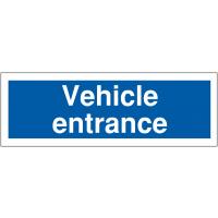 Durable Vehicle Entrance Car Park Signs