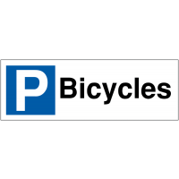 Parking Bay Signs for Bicycles