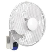 "Sealey 16"" Easy Use Remote Control Wall Fan"