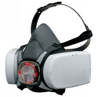JSP Force 8 Half-Mask Respiratory Protection with PressToCheck Filters