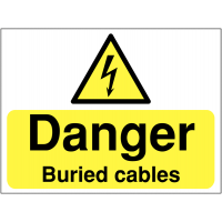 Warning Signs - Buried Cables